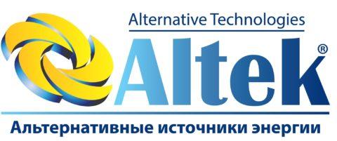 Логотип Altek - фото