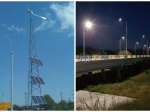 Один из самых длинных мостов Донетчины оборудовали солнечными панелями