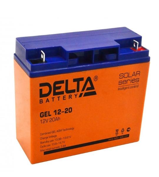 Аккумуляторная батарея Delta GEL 12- 20 - фото