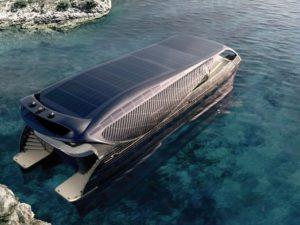 Первая в мире солнечная яхта SolarImpact