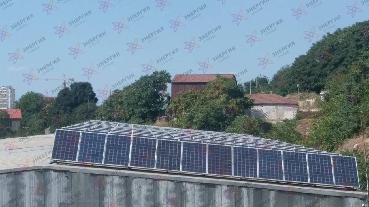 Сетевая солнечная станция 79кВт в г Севастополь фото (1)