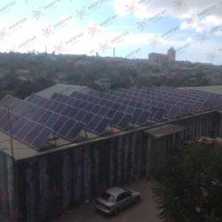 Сетевая солнечная станция 79кВт в г Севастополь - фото (6)