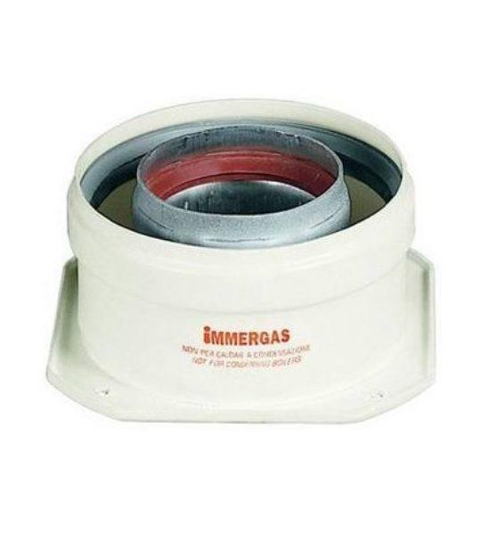 Патрубок с фланцем Immergas для подключения к котлу 60/100 - фото