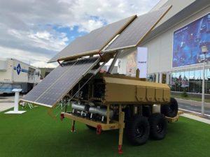 В России создали мобильную энергосистему с солнечными панелями
