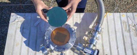 Китайские ученые создали солнечную батарею, направляющую излишек энергии в космос - фото