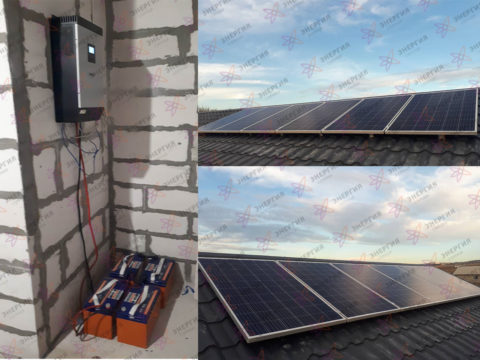 Автономная система электроснабжения частного дома фото (2)