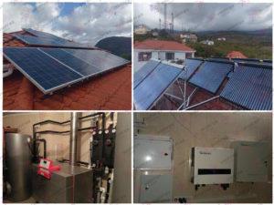 Гелиосистема и сетевая электростанция в пгт. Гурзуф