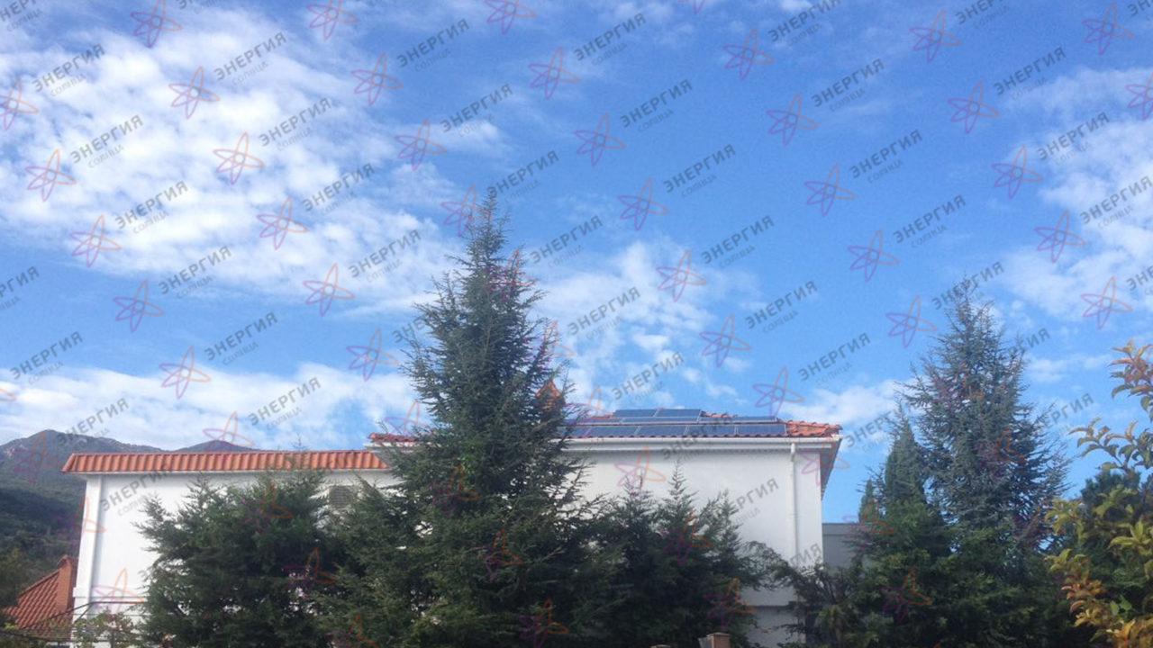 Гелиосистема и сетевая электростанция в пгт. Гурзуф фото (11)