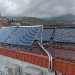 Гелиосистема и сетевая электростанция в пгт. Гурзуф фото (14)