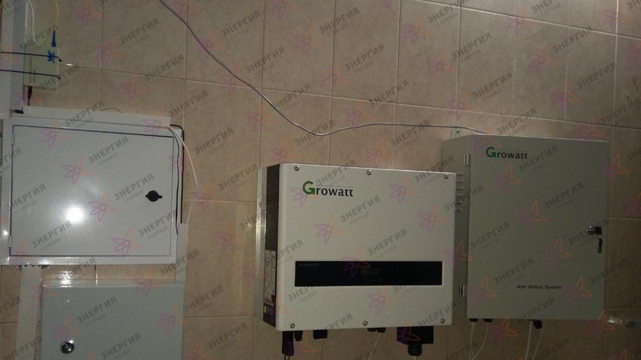 Гелиосистема и сетевая электростанция в пгт. Гурзуф фото (5)