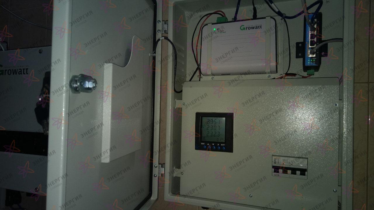 Гелиосистема и сетевая электростанция в пгт. Гурзуф фото(6)