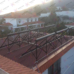 Гелиосистема и сетевая электростанция в пгт. Гурзуф фото (8)