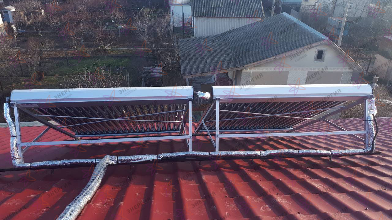 Автономная система горячего водоснабжения на 300 л фото (3)