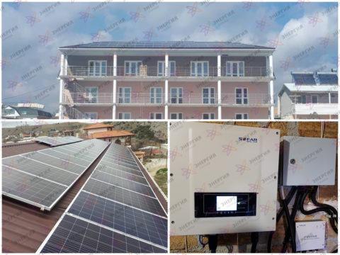 Сетевая солнечная электростанция на 11 кВт*ч фото (1)