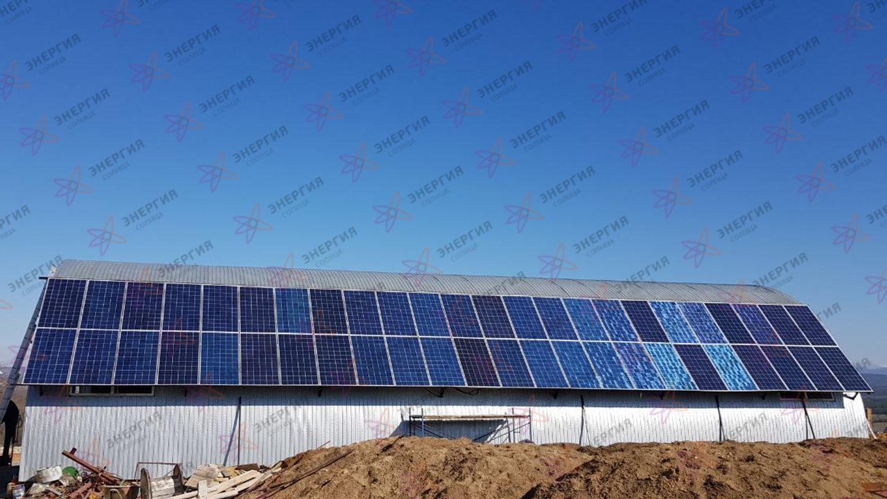 Автономная солнечная электростанция, с установленной мощностью солнечных панелей 15,5 кВтч фото (4)