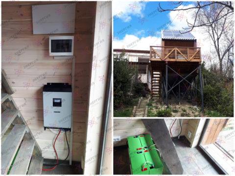 Гибридная солнечная электростанция для резервирования и экономии фото (1)
