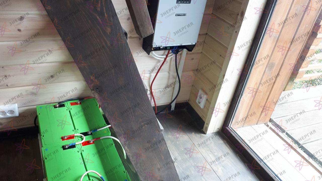 Гибридная солнечная электростанция для резервирования и экономии фото (2)