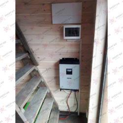 Гибридная солнечная электростанция для резервирования и экономии фото(3)