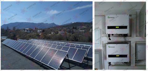 Cетевая солнечная электростанция на 20 кВт*ч - фото