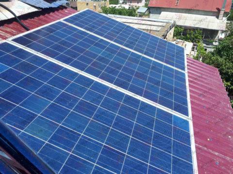 Автономная солнечная электростанция на 1кВт ч - фото