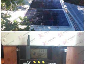 Автономная солнечная мини-электростанция