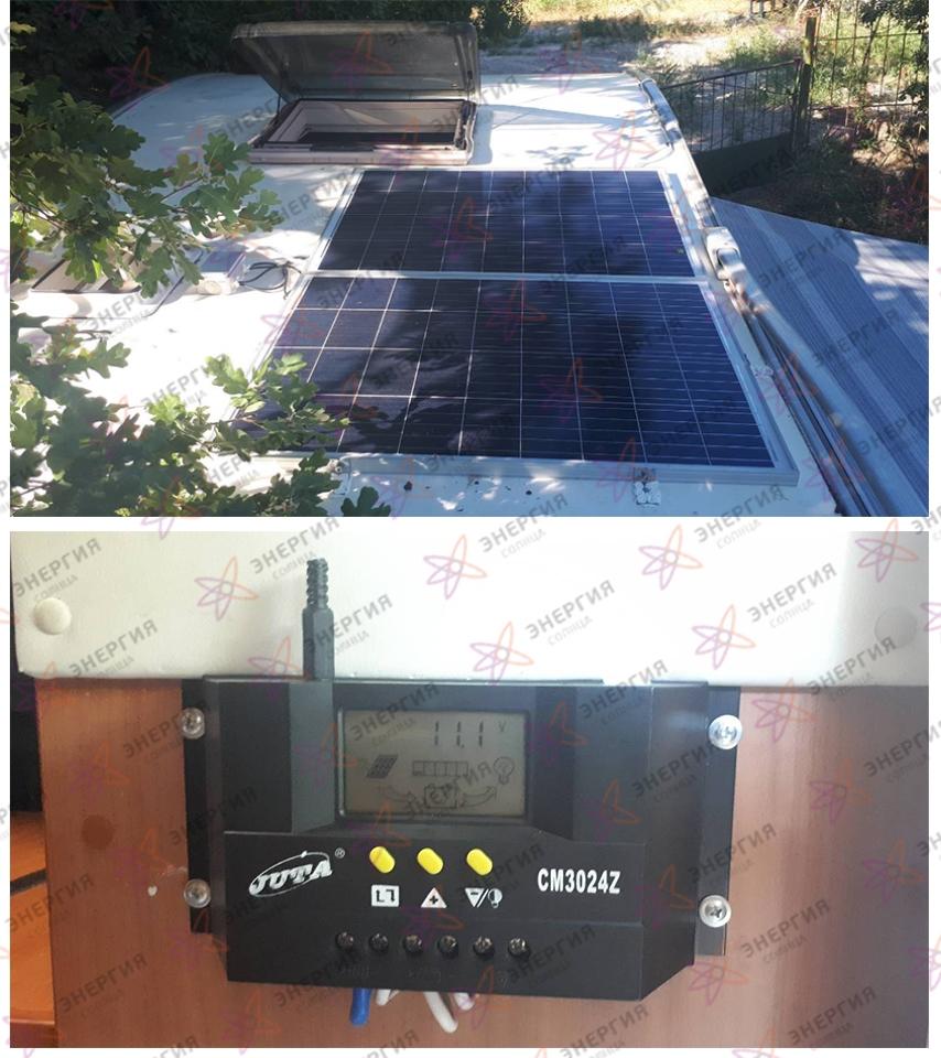 Автономная солнечная мини-электростанция - фото