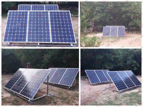 автономная солнечная электростанция в Крымском заповеднике фото