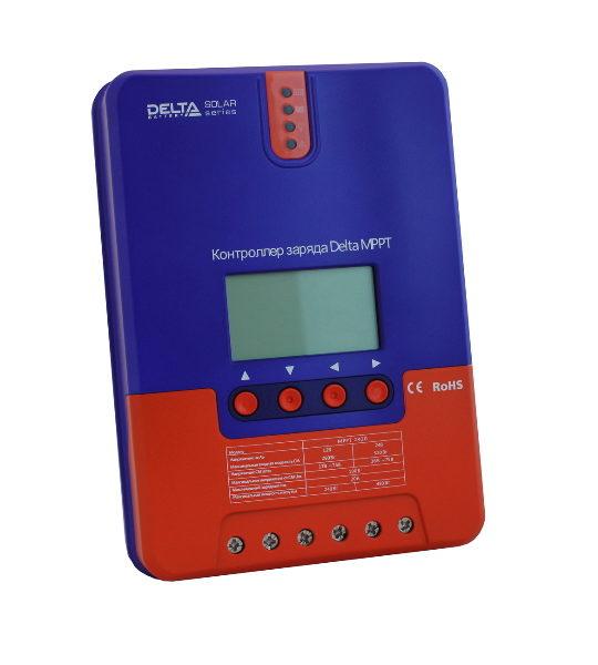 Контроллер заряда Delta MPPT2420, 20А, до 100В - фото