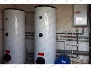 Горячее водоснабжение в детской спортивно-оздоровительной школе г. Симферополь