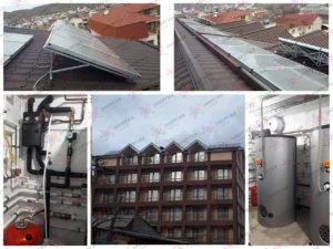 Увеличение мощности гелиосистемы в частной гостинице г. Судак.